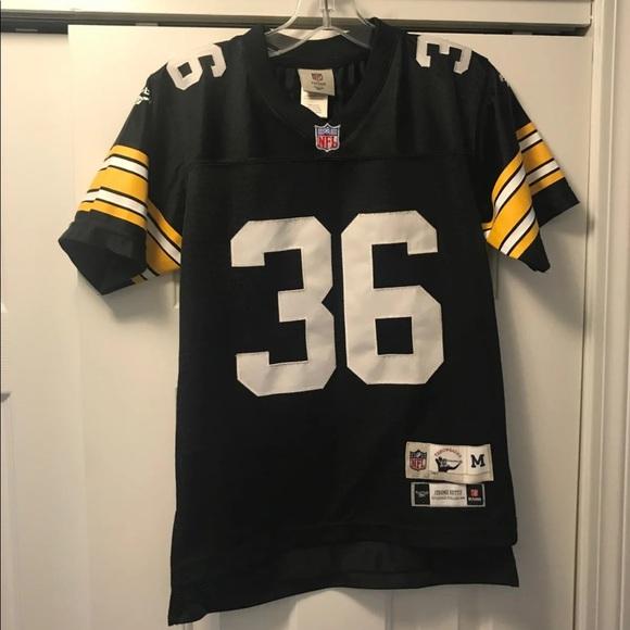 big sale 51931 6589f Throwbacks Vtg Steelers Jersey Bettis Youth Med